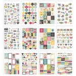 Simple Stories - Carpe Diem - Hello Collection - A5 Sticker Tablet