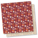 Simple Stories - Forever Fall Collection - 12 x 12 Double Sided Paper - Autumn Love