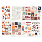 Simple Stories - Forever Fall Collection - Cardstock Stickers