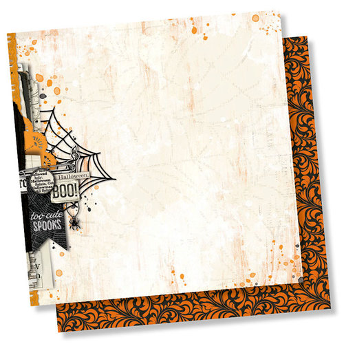 Simple Stories - Simple Vintage Halloween Collection - 12 x 12 Double Sided Paper - October 31st