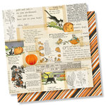 Simple Stories - Simple Vintage Halloween Collection - 12 x 12 Double Sided Paper - Little Monsters