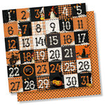 Simple Stories - Simple Vintage Halloween Collection - 12 x 12 Double Sided Paper - 2 x 2 Elements