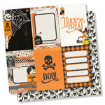 Simple Stories - Simple Vintage Halloween Collection - 12 x 12 Double Sided Paper - 4 x 6 Vertical Elements
