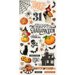 Simple Stories - Simple Vintage Halloween Collection - Chipboard Stickers
