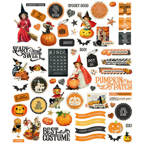 Simple Stories - Simple Vintage Halloween Collection - Bits and Pieces