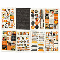 Simple Stories - Simple Vintage Halloween Collection - Cardstock Stickers