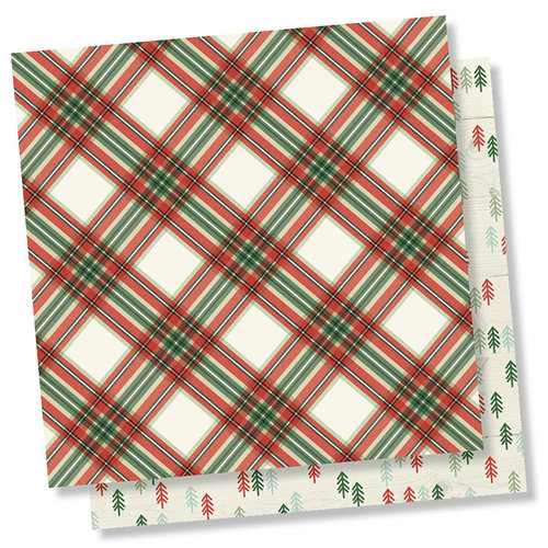 Simple Stories - Merry and Bright Collection - Christmas - 12 x 12 Double Sided Paper - Simply Christmas