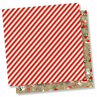 Simple Stories - Merry and Bright Collection - Christmas - 12 x 12 Double Sided Paper - Sparkle and Shine