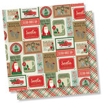 Simple Stories - Merry and Bright Collection - Christmas - 12 x 12 Double Sided Paper - Celebrate the Season