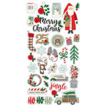 Simple Stories - Merry and Bright Collection - Christmas - Chipboard Stickers
