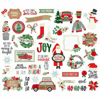 Simple Stories - Merry and Bright Collection - Christmas - Bits and Pieces