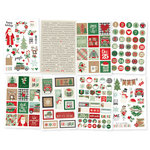 Simple Stories - Merry and Bright Collection - Christmas - Cardstock Stickers