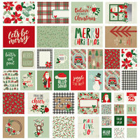 Simple Stories - Merry and Bright Collection - Christmas - SNAP Cards
