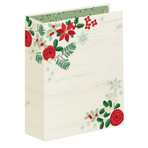 Simple Stories - Merry and Bright Collection - Christmas - SNAP Holiday Binder
