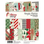 Simple Stories - Merry and Bright Collection - Christmas - 6 x 8 Paper Pad