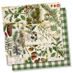 Simple Stories - Simple Vintage Christmas Collection - 12 x 12 Double Sided Paper - O Christmas Tree
