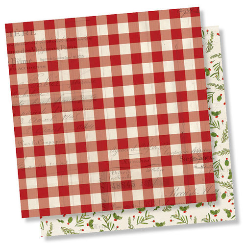 Simple Stories - Simple Vintage Christmas Collection - 12 x 12 Double Sided Paper - Believe
