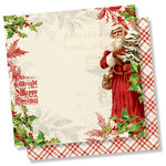 Simple Stories - Simple Vintage Christmas Collection - 12 x 12 Double Sided Paper - Dear Santa