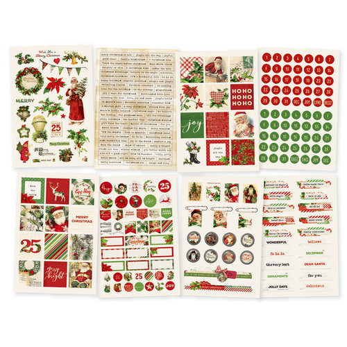 Simple Stories - Simple Vintage Christmas Collection - Cardstock Stickers