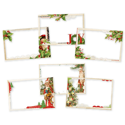 Simple Stories - Simple Vintage Christmas Collection - 4 x 6 Transparencies