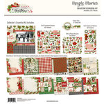 Simple Stories - Simple Vintage Christmas Collection - 12 x 12 Collector's Essential Kit
