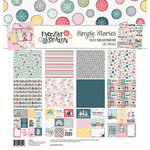 Simple Stories - Freezin' Season Collection - 12 x 12 Collection Kit