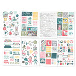 Simple Stories - Freezin' Season Collection - Cardstock Stickers