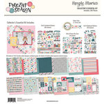 Simple Stories - Freezin' Season Collection - 12 x 12 Collector's Essential Kit