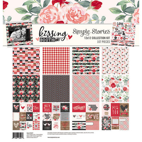 Simple Stories - Kissing Booth Collection - 12 x 12 Collection Kit