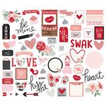Simple Stories - Kissing Booth Collection - Bits and Pieces