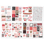 Simple Stories - Kissing Booth Collection - Cardstock Stickers