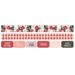 Simple Stories - Kissing Booth Collection - Washi Tape