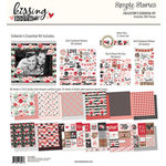 Simple Stories - Kissing Booth Collection - 12 x 12 Collector's Essential Kit