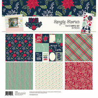 Simple Stories - Peace on Earth Collection - Christmas - 12 x 12 Collection Kit