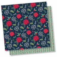Simple Stories - Peace on Earth Collection - Christmas - 12 x 12 Double Sided Paper - Silent Night