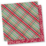 Simple Stories - Peace on Earth Collection - Christmas - 12 x 12 Double Sided Paper - All is Calm