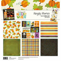 Simple Stories - Happy Halloween Collection - 12 x 12 Collection Kit