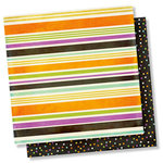Simple Stories - Happy Halloween Collection - 12 x 12 Double Sided Paper - Boo to You