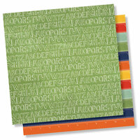 Simple Stories - School Rocks Collection - 12 x 12 Double Sided Paper - Ready Set Learn