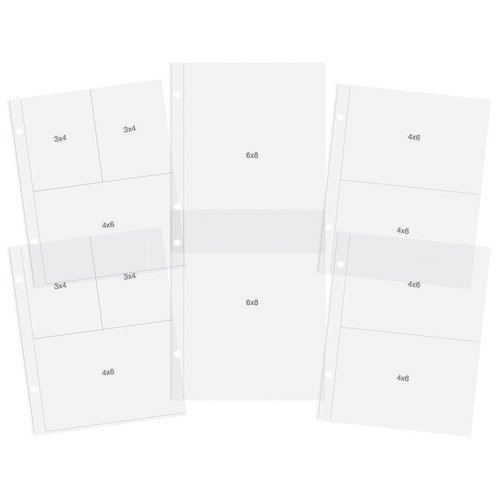 Simple Stories - SNAP Collection - 6 x 8 Pocket Pages - Multi Pack