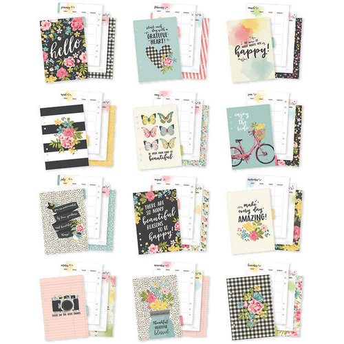 Carpe Diem - Hello Collection - A5 Planner - Inserts - Monthly - Undated