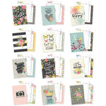 Simple Stories - Carpe Diem - Hello Collection - A5 Planner - Inserts - Monthly - Undated