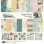 Simple Stories - Simple Vintage Traveler Collection - 12 x 12 Collection Kit