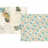 Simple Stories - Simple Vintage Traveler Collection - 12 x 12 Double Sided Paper - Take Detours
