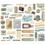 Simple Stories - Simple Vintage Traveler Collection - Bits and Pieces