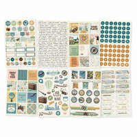 Simple Stories - Simple Vintage Traveler Collection - Cardstock Stickers