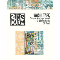 Simple Stories - Simple Vintage Traveler Collection - Washi Tape