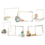 Simple Stories - Simple Vintage Traveler Collection - Layered Frames