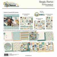 Simple Stories - Simple Vintage Traveler Collection - 12 x 12 Collector's Essential Kit