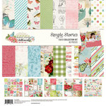 Simple Stories - Simple Vintage Botanicals Collection - 12 x 12 Collection Kit
